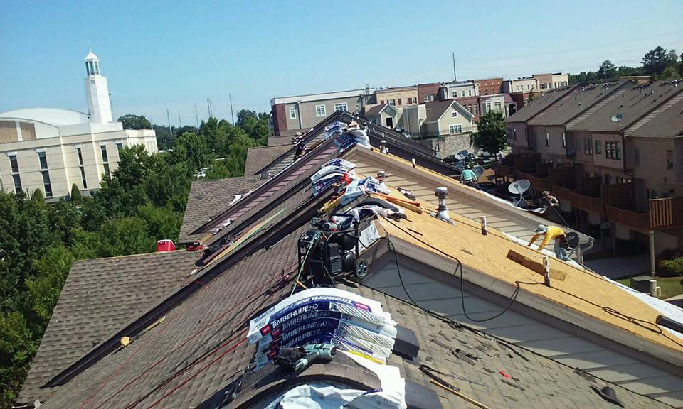 Professional Roofers Flowery Branch, Commercial Roofing Company Buford
